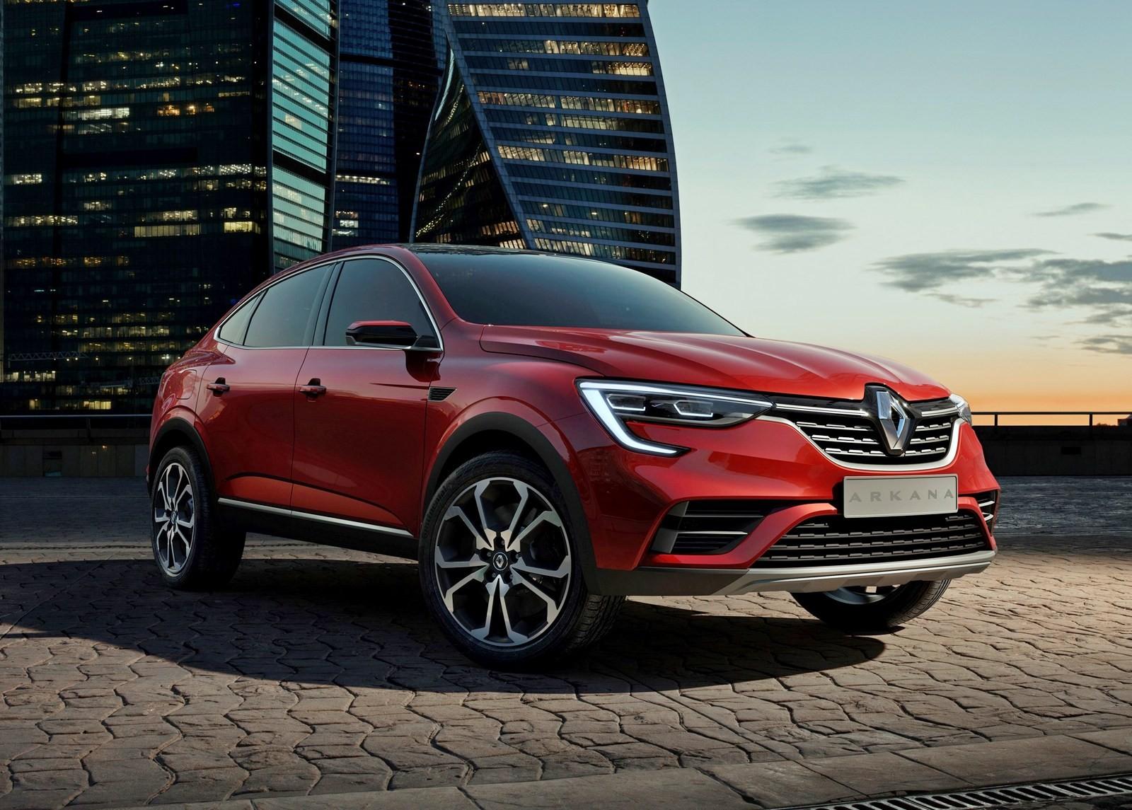 Renault ARKANA 2019 фото