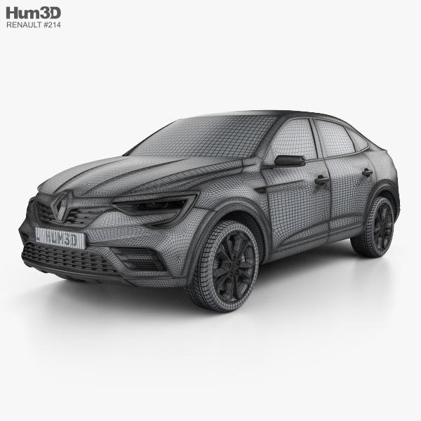 Рено Аркана RS пока только на рисунках