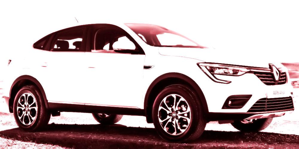 Renault Arkana White